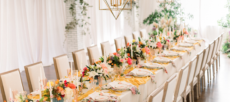 It Was All Yellow! Event Design Inspired by the Song