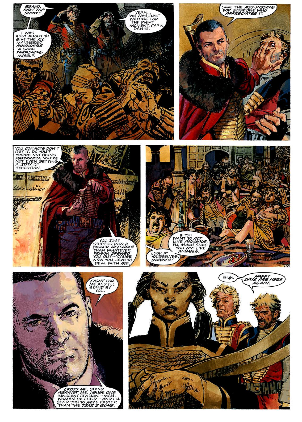 Read online Nikolai Dante comic -  Issue # TPB 4 - 22
