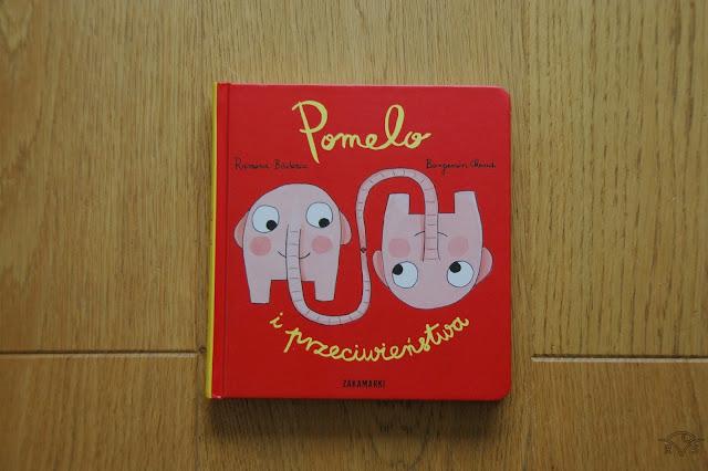 jak pokazać dzieciom przeciwieństwa wydawnictwo zakamarki Ramona Bădescu Benjamin Chaud