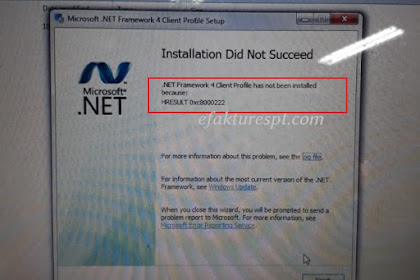 Solusi Error HRESULT 0xc8000222 Saat Instal NET Framework 4.0