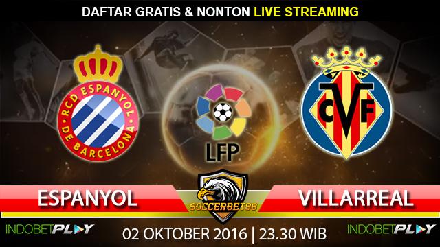 Prediksi Espanyol vs Villarreal 02 Oktober 2016 (Liga Spanyol)