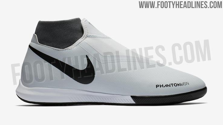 0f96c7ac3 Nike Phantom Vision Academy IC - Pure Platinum   Black   Light Crimson    Dark Grey
