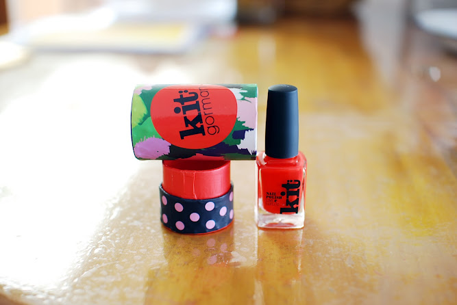 Kit Gormon Nail Polish Orange.com