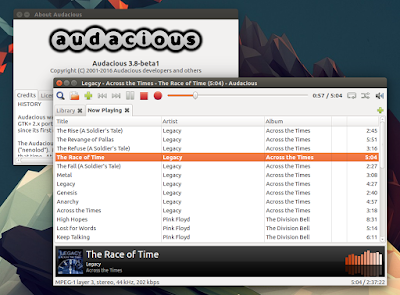 Audacious 3.8 Ubuntu