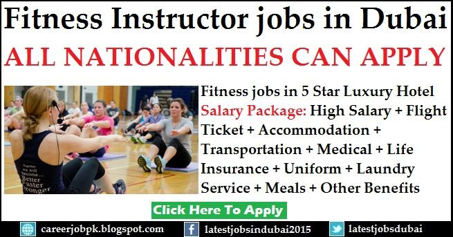 Fitness Instructor jobs in Dubai