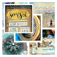 My new Mixed Media class at Scrap Fest
