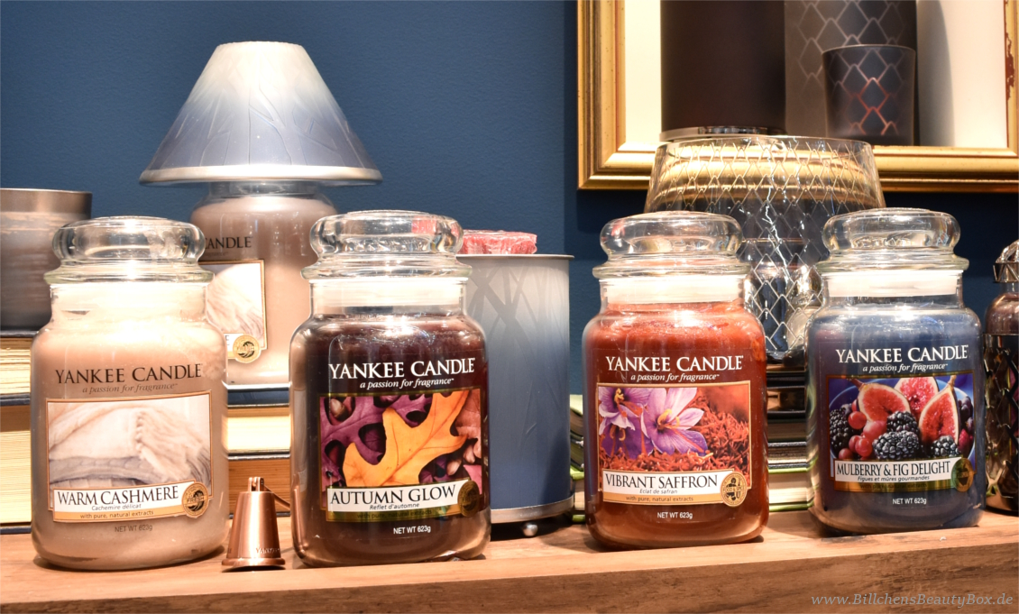Yankee Candle - Fall in Love Kollektion, Düfte und Duftbeschreibungen
