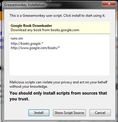 in 1 greasemonkey books google all