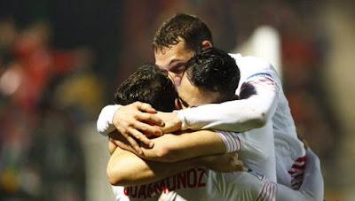 Crónica CD Mirandés 0 Vs Sevilla FC 3