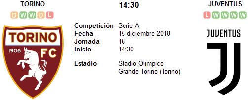 Torino vs Juventus en VIVO