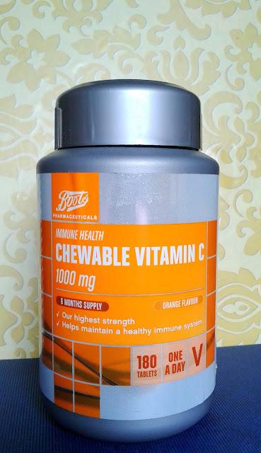 Vitamina C da Boots Pharmaceuticals