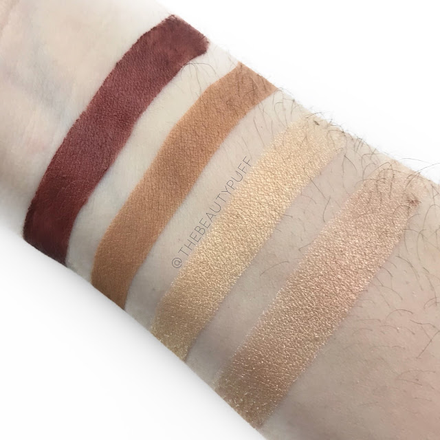 Stellar Beauty Swatches  |  The Beauty Puff