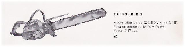 PRINZ EE3 Chainsaw MotosierradeColeccion