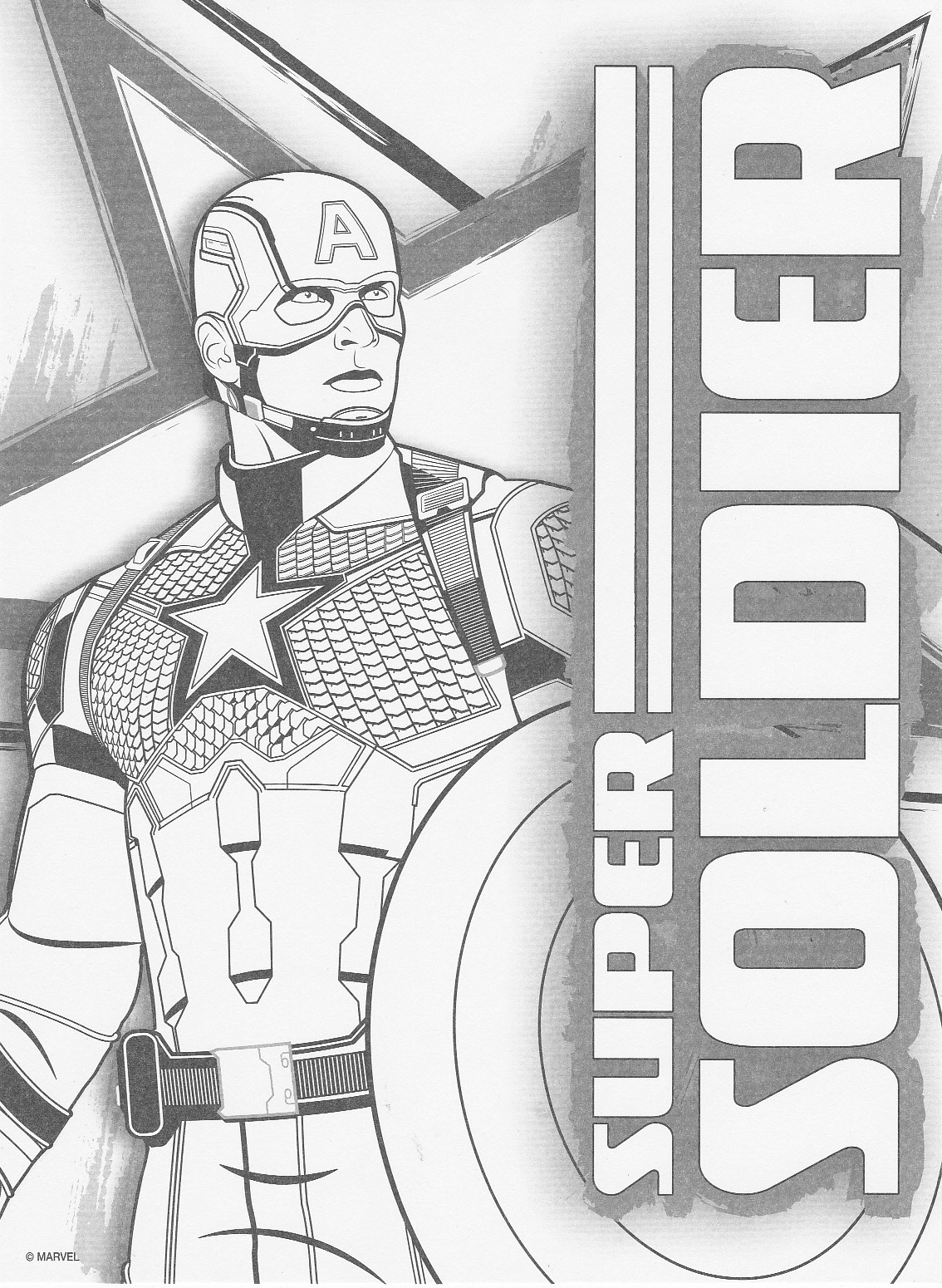 Superstition Is All We Have Left Captain America Civil War Colouring Pictures
