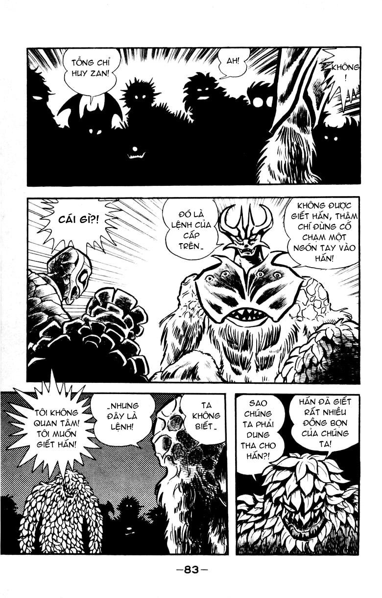 DevilMan chapter 18 trang 36