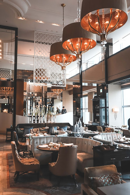 Levitate Style, Shangri-La Dining Room in Tokyo Japan