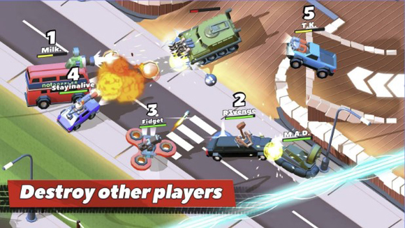 Crash of Cars Mod Apk for Android
