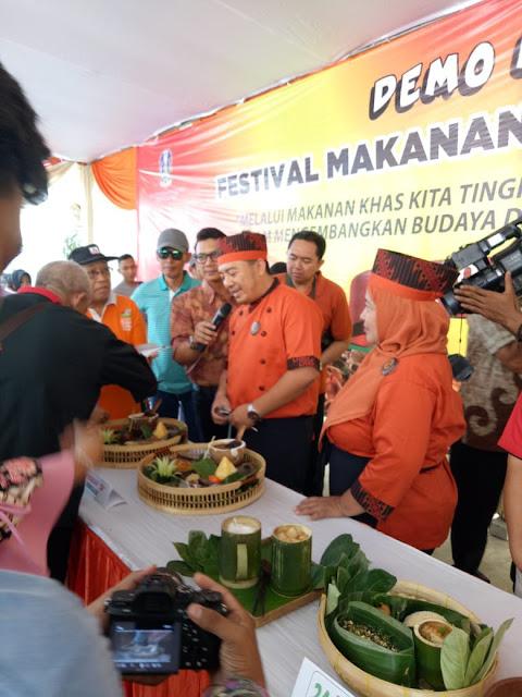 Trenggalek Raih Penyaji Terbaik Festival Makanan Khas Jatim 2018