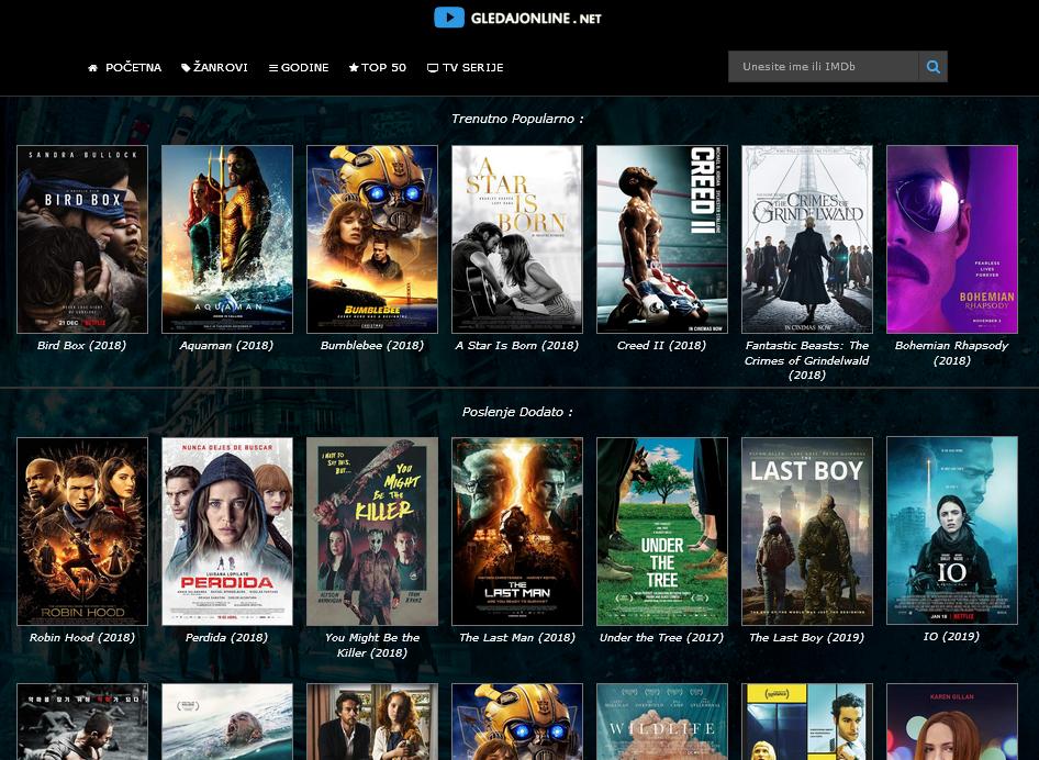 Besplatni filmovi za gledanje online