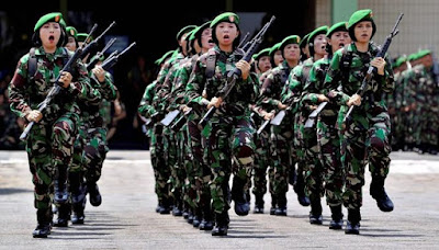 Lima Tentara Wanita Terhebat di Dunia 64