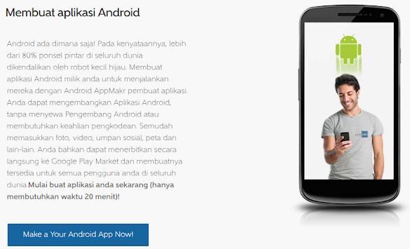 Cara Gampang Menciptakan Aplikasi Android Dengan Appmakr
