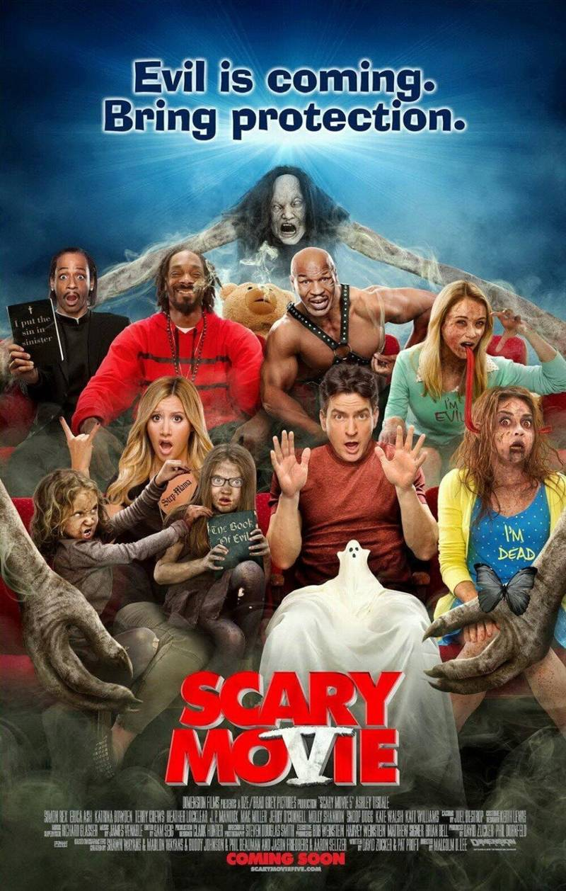 Worldgossip Scary Movie 5 Out Tomorrow