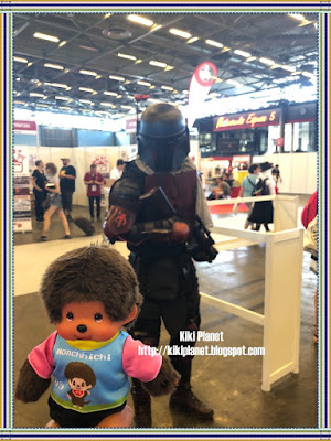 monchhichi kiki japan expo 2018 cosplayer boba fett