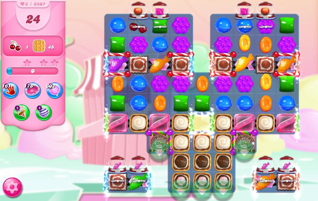 Candy Crush Saga level 6507