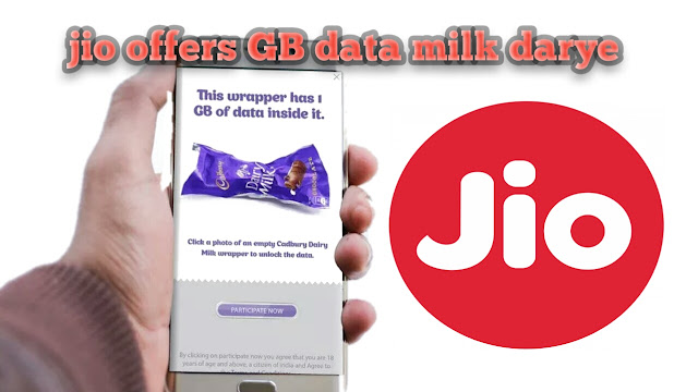 Reliance Jio is offering its users 1GB free data with Cadbury Dairy Milk