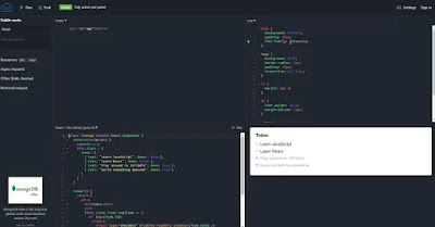alternative JSFiddle e Codepen