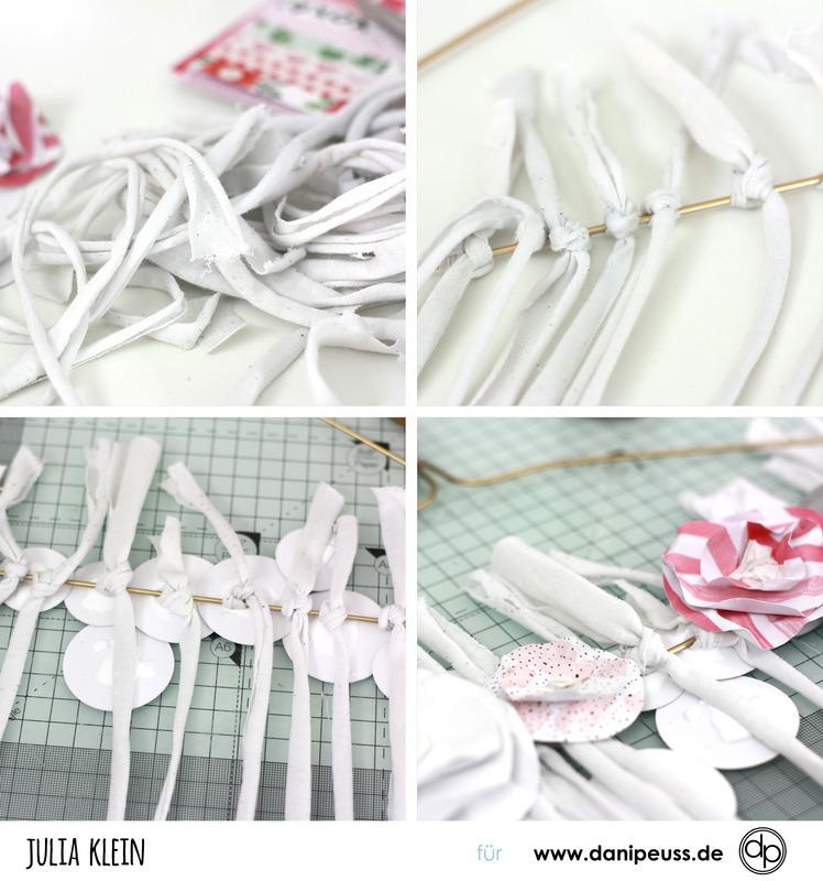 Danipeuss.De :: Blog: Papierblumen Wanddeko Selber Machen