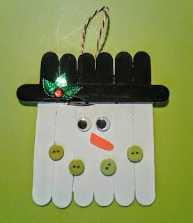 Χριστουγεννιάτικες Κατασκευές με γλωσσοπίεστρα