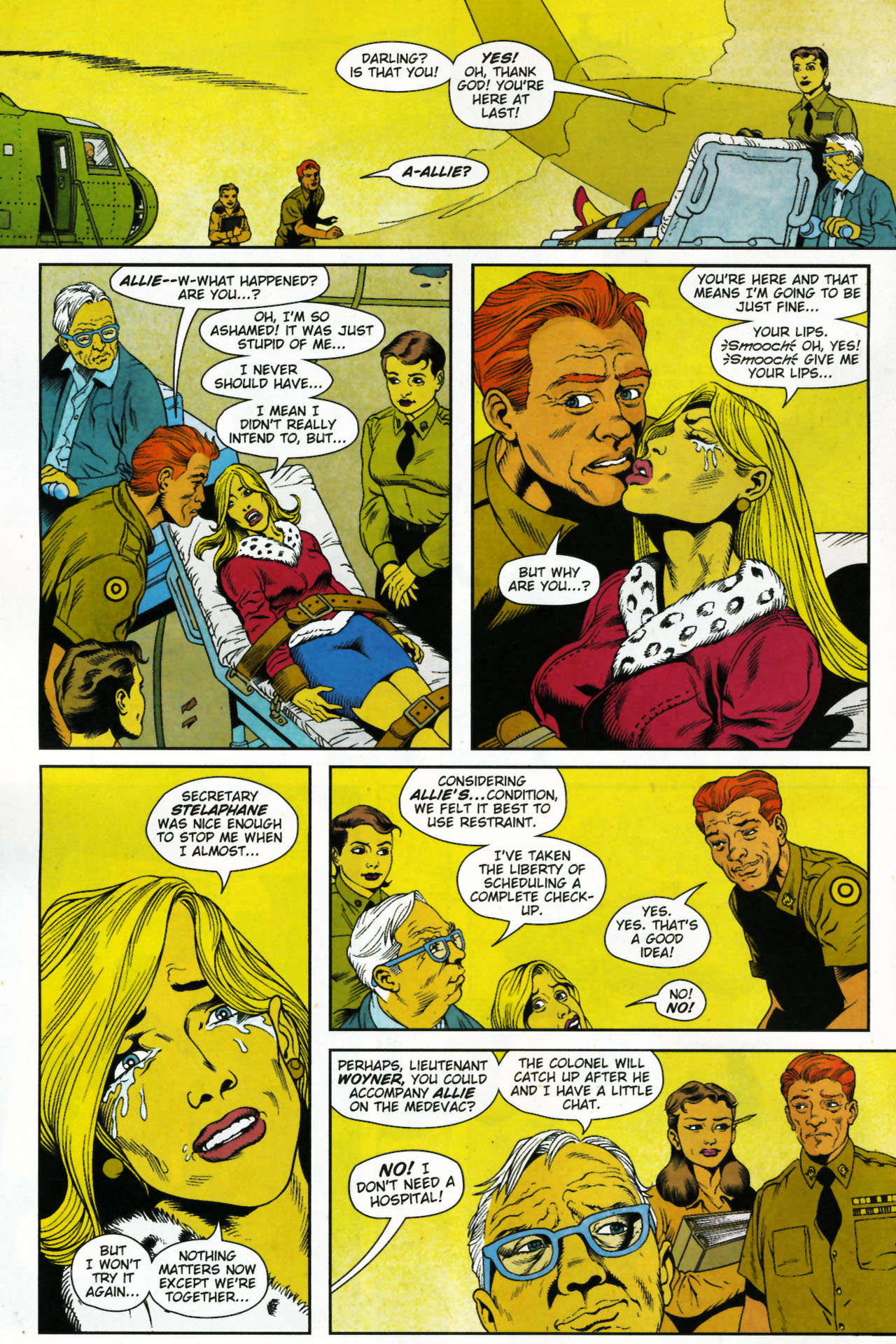 Read online Army @ Love comic -  Issue #4 - 10