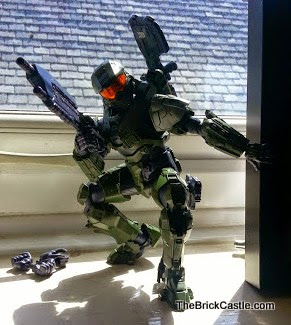 Model figure Halo Master Chief John Level 3 Bandai SpruKit