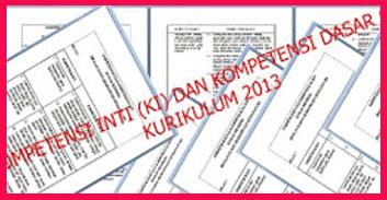 KI dan KD Lengkap Kurikulum 2013