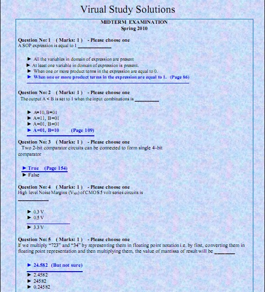 Cs101 old solved midterm papers