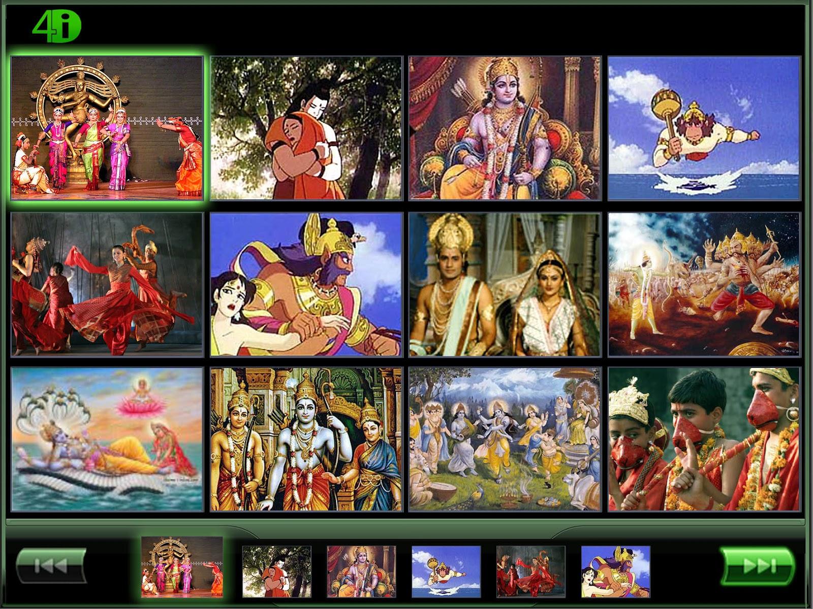 Kamba Ramayanam in English: Index of Kamba Ramayana in English