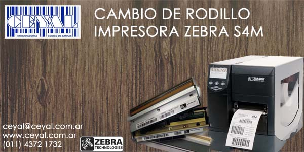 service impresora de etiquetas Zebra