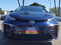 Toyota Mirai hydrogen fuel cell car. (Credit: Kyle Field for CleanTechnica) Click to Enlarge.