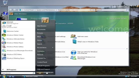 Windows Vista screenshot 4