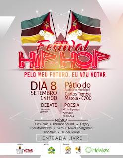Festival de Hip-Hop PELO MEU FUTURO, EU VOU VOTAR