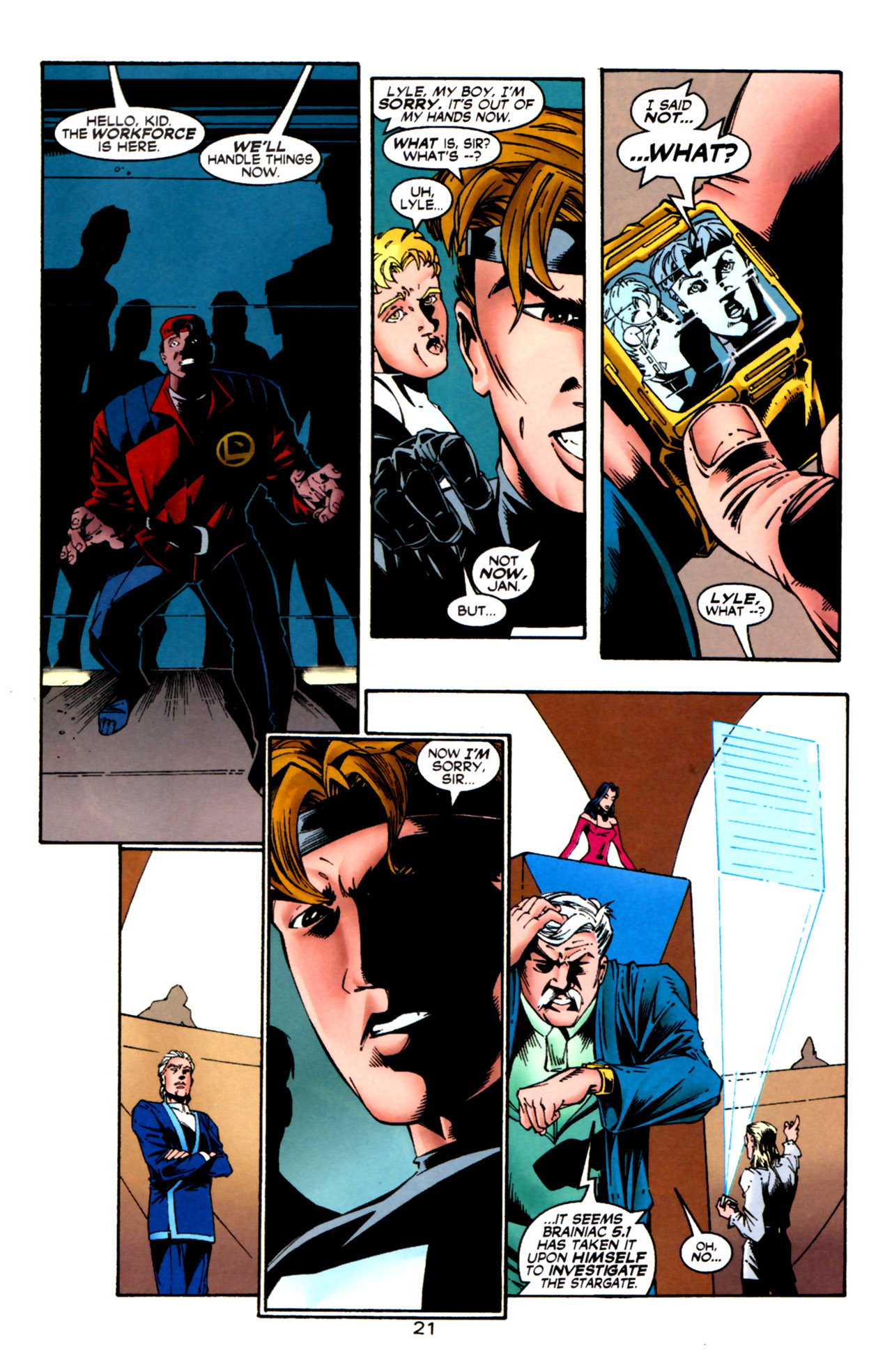 Legion of Super-Heroes (1989) 124 Page 21