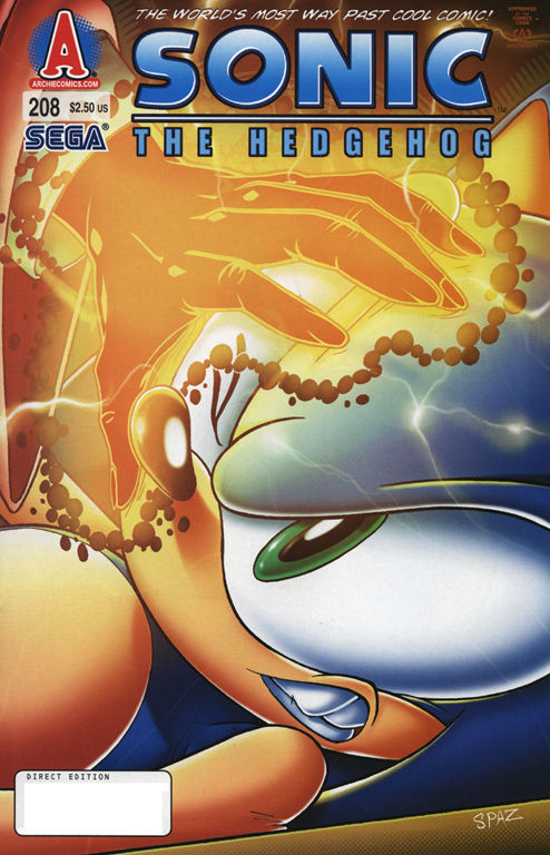Read online Sonic The Hedgehog comic -  Issue #208 - 1