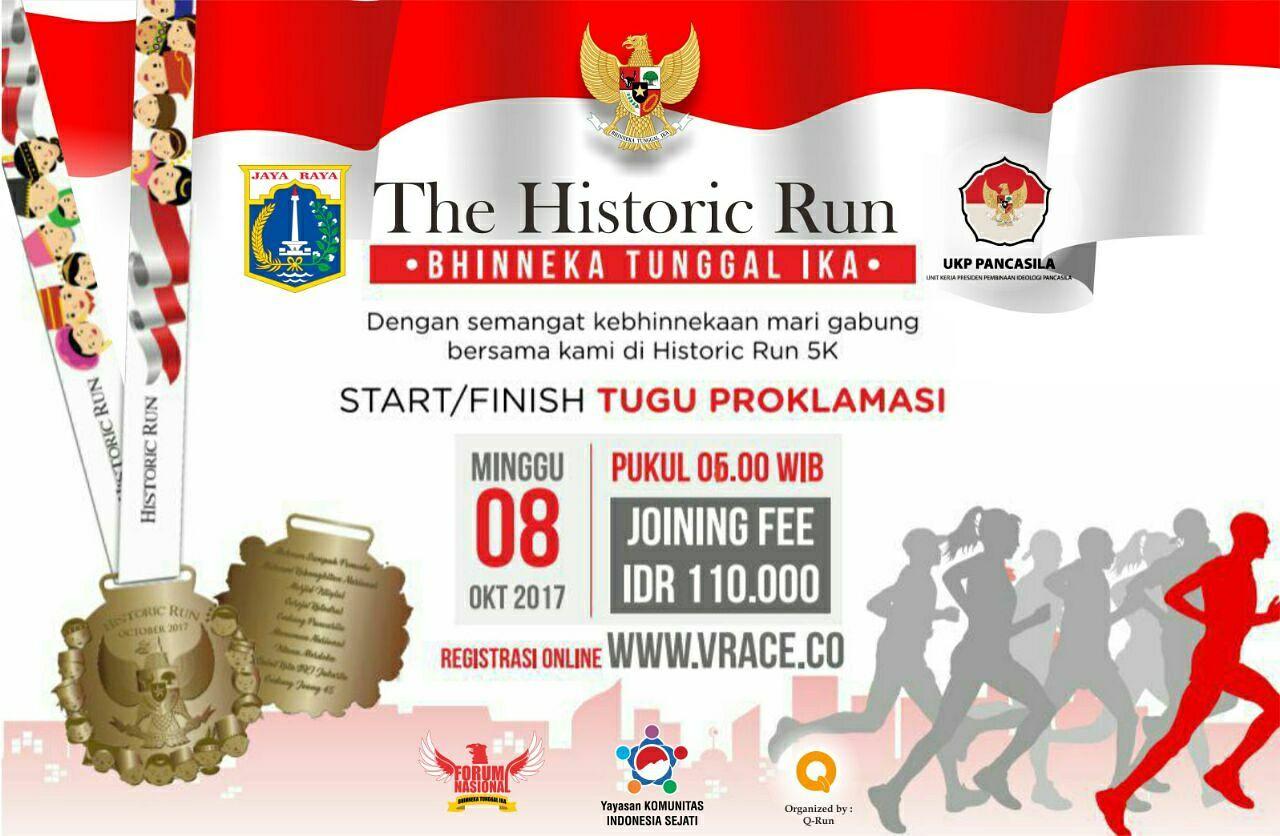 The Historic Run • 2017