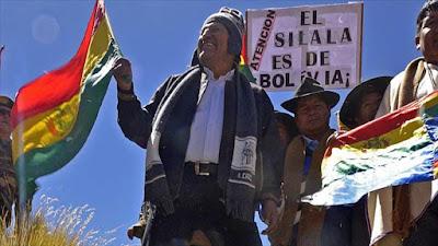 """Evo Morales a Chile: """"Primero roban el agua y luego nos demandan"""""""