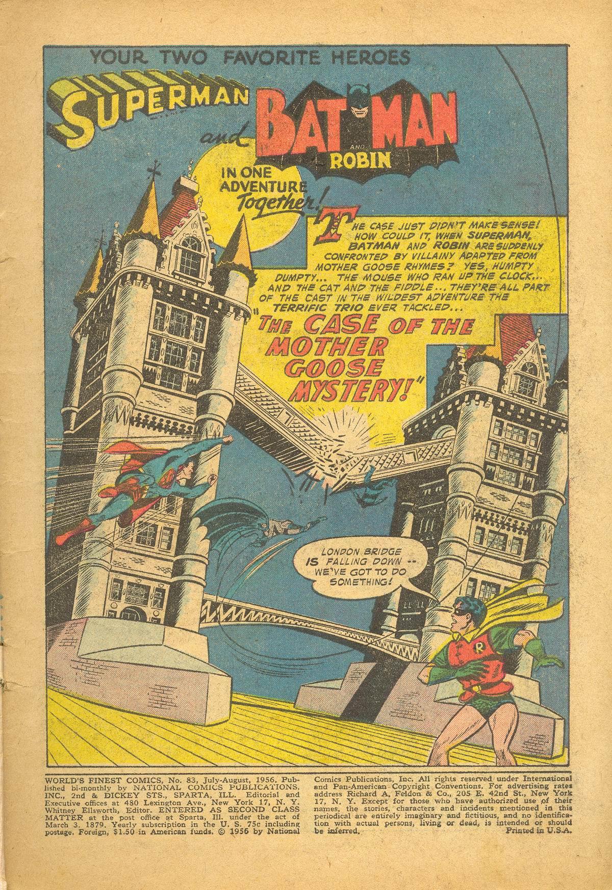 Read online World's Finest Comics comic -  Issue #83 - 3