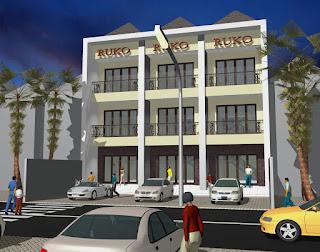 50+ Desain Arsitektur Ruko Minimalis Modern 1 dan 2 Lantai