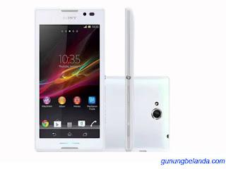 Cara Flashing Sony Xperia C C2304