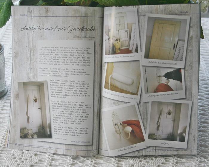 Lovely Vintage: Neues Lovely Vintage DIY: Antike Tür wird zur Shabby ...