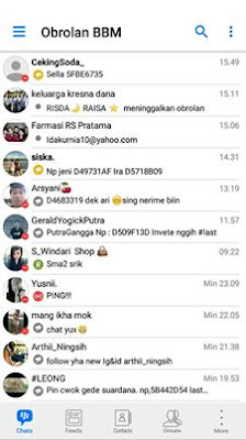 BBM Like ios v3.2.3.11 Remod by Bayu Purwata Base by Richie Evan II